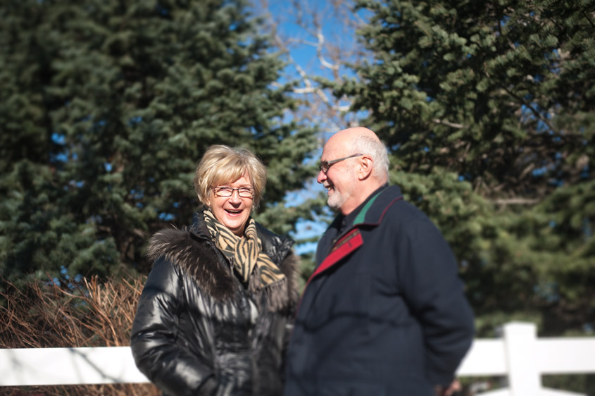 Super cute older couple married for 49 years