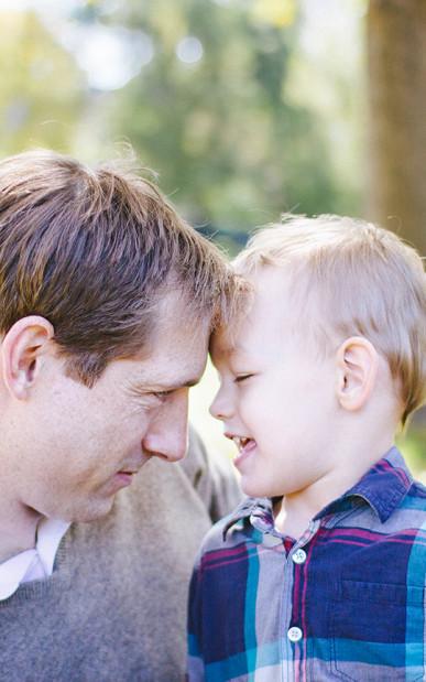 father son family photos